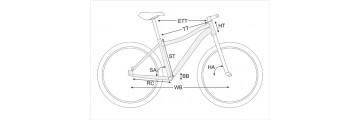 Как подобрать раму велосипеда?