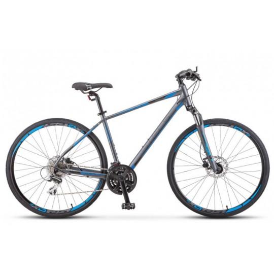 гибридный дорожный велосипед Stels Cross-150 D Gent V010